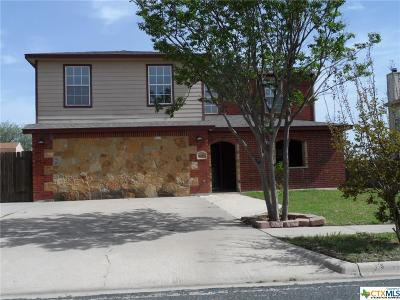 Killeen Single Family Home For Sale: 1607 Waterford Drive
