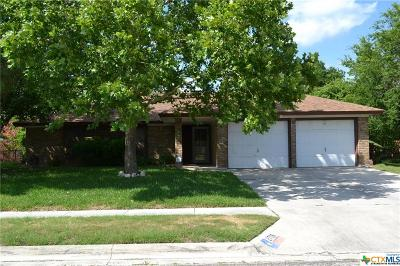 Copperas Cove Single Family Home For Sale: 2706 Phyllis Drive