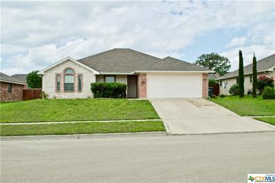 Copperas Cove Single Family Home For Sale: 2207 Gail Drive