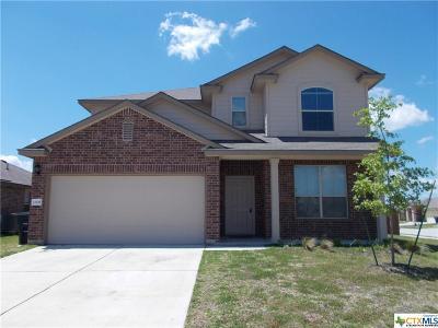 Killeen Single Family Home For Sale: 1305 Hana Drive