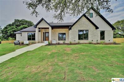 Salado Single Family Home For Sale: 1005 Deer Crossing