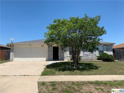Killeen Single Family Home For Sale: 4301 Stallion Drive