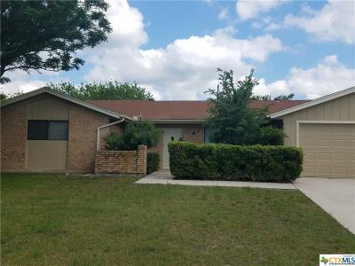 Copperas Cove Single Family Home For Sale: 2005 Babb Street