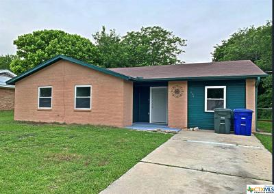 Copperas Cove Single Family Home For Sale: 116 Williams Street