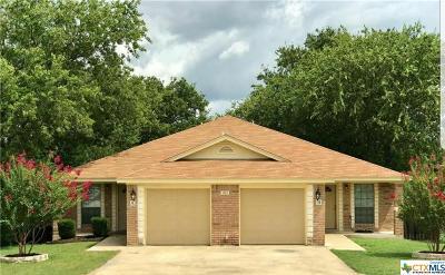 Harker Heights Single Family Home Pending: 903 Travis Lane