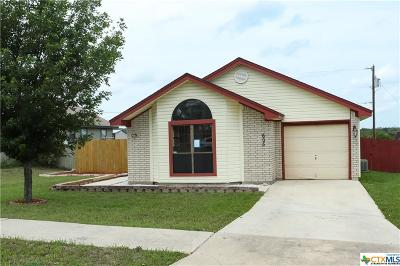 Copperas Cove Single Family Home Pending: 605 Robertstown Road