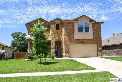Killeen Single Family Home For Sale: 3605 Parkmill Drive