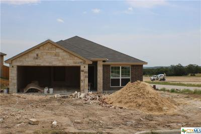 Copperas Cove Single Family Home Pending: 1050 Republic Circle