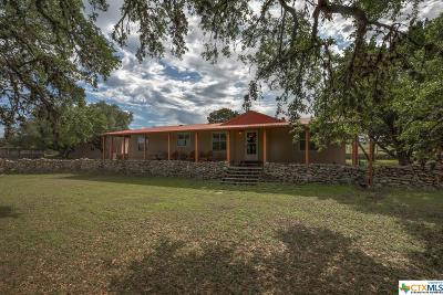 Canyon Lake Single Family Home For Sale: 801 Lazy Diamond