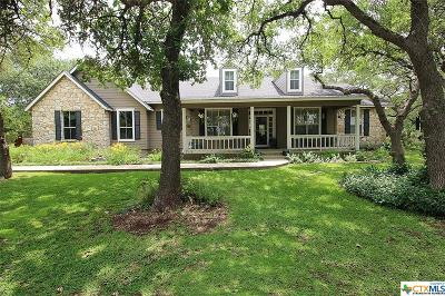Spring Branch Single Family Home For Sale: 8018 Gainsborough Drive