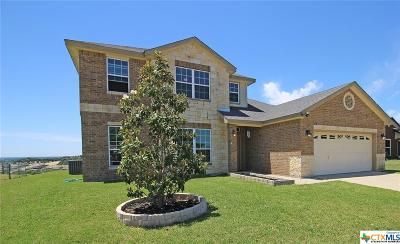 Copperas Cove Single Family Home For Sale: 1506 High Chaparral Drive