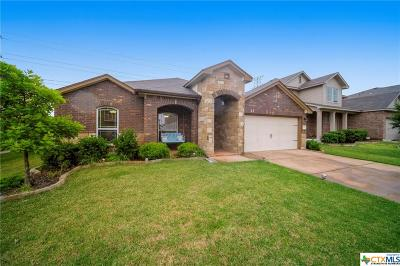 Killeen Single Family Home For Sale: 3202 Cricklewood Dr
