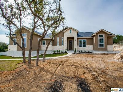 Canyon Lake TX Single Family Home For Sale: $469,000