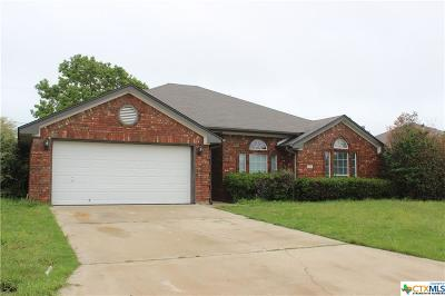Harker Heights Single Family Home For Sale: 705 Mustang Trail