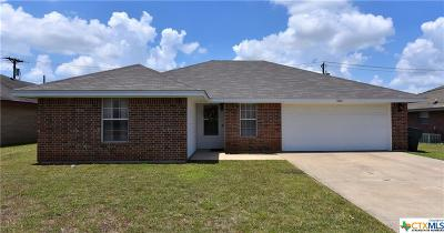 Killeen Single Family Home For Sale: 4005 Roundrock Drive