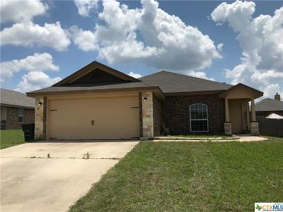 Killeen Single Family Home For Sale: 2900 Montague County Drive