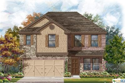 New Braunfels Single Family Home For Sale: 3984 Gentle Meadow