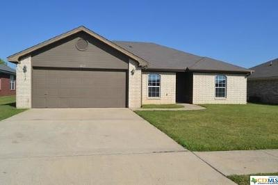 Killeen Single Family Home For Sale: 4403 Wade Drive