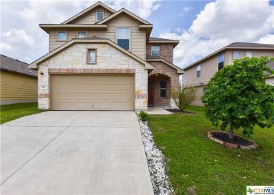 Killeen Single Family Home For Sale: 113 W Gemini Lane