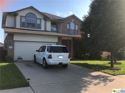 Killeen TX Single Family Home For Sale: $182,500