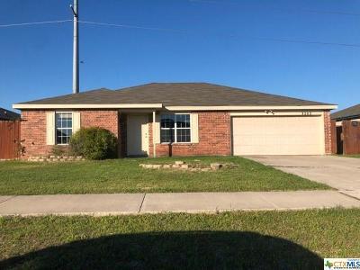 Killeen Single Family Home For Sale: 3203 Tom Lockett Drive