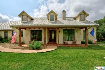 New Braunfels TX Single Family Home For Sale: $489,990