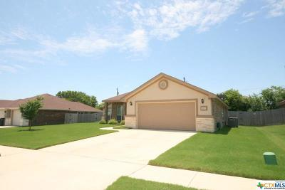 Killeen Single Family Home For Sale: 1602 Granex Drive