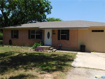Coryell County, Falls County, McLennan County, Williamson County Single Family Home For Sale: 1102 Golf Course Road