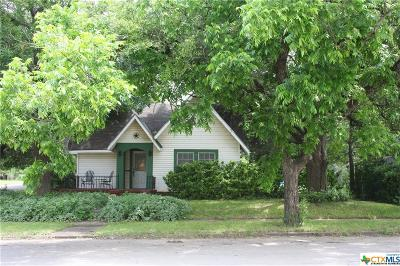 McGregor TX Single Family Home For Sale: $105,000