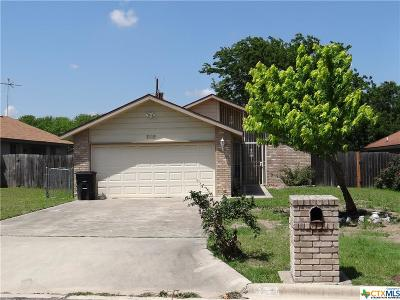 Killeen TX Single Family Home For Sale: $82,900