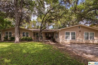 New Braunfels Single Family Home For Sale: 1108 Canyon Drive