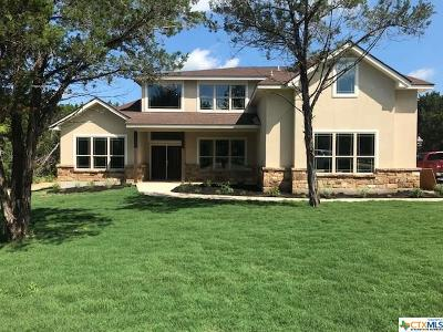 New Braunfels Single Family Home For Sale: 2625 Wild Cat Roost