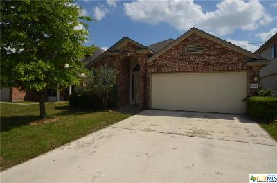 Killeen Single Family Home For Sale: 5104 Donegal Bay Court