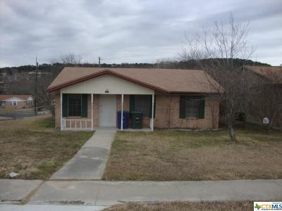 Copperas Cove Single Family Home For Sale: 1801 S Fm 116