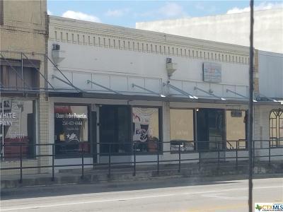 Belton Commercial For Sale: 106 N Main Street
