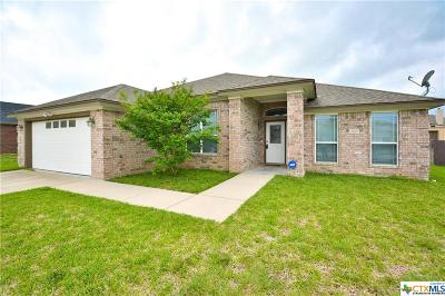 Killeen Single Family Home For Sale: 4907 Citrine Drive