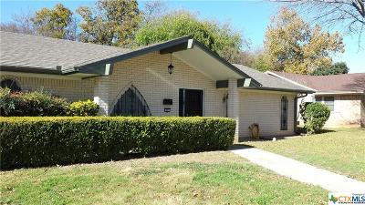 Killeen Single Family Home For Sale: 601 Tower Street