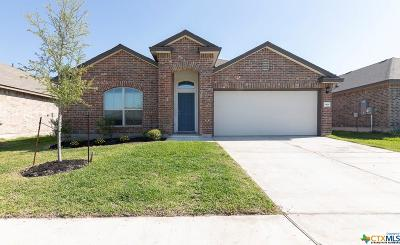 Killeen TX Single Family Home For Sale: $159,500