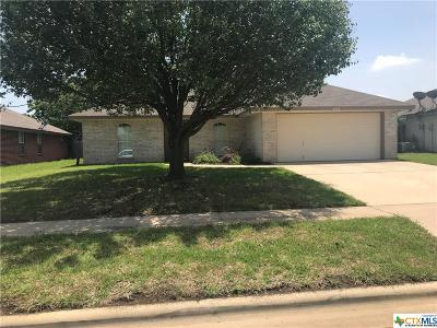 Killeen Single Family Home For Sale: 4402 Lonesome Dove Drive