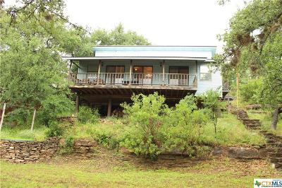 Burnet County Single Family Home For Sale: 807 Lovers Lane