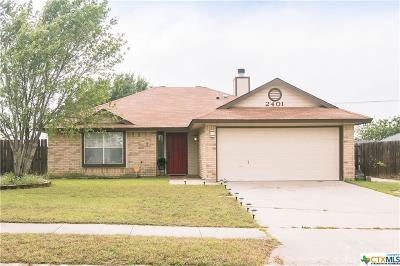 Killeen Single Family Home For Sale: 2401 Huckleberry Drive
