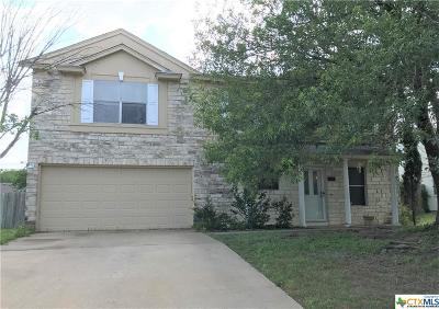 Killeen Single Family Home For Sale: 5107 Whiterock Drive