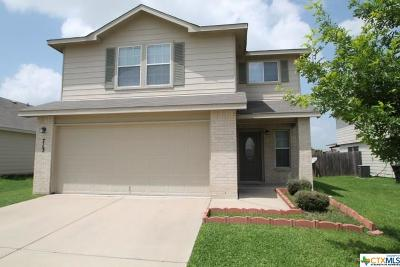 Killeen Single Family Home For Sale: 713 Perseus Drive