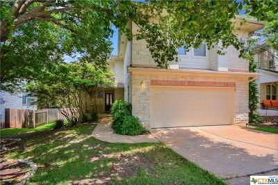 Round Rock Single Family Home For Sale: 2046 Kimbrook Drive