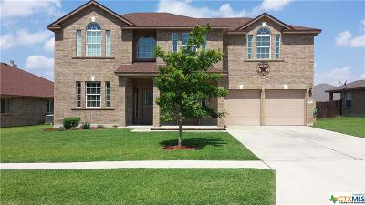 Killeen Single Family Home For Sale: 5407 Southern Belle Drive