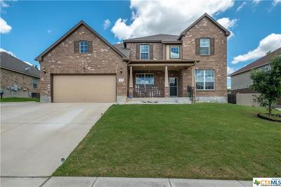 Killeen Single Family Home For Sale: 5805 Bedrock Drive