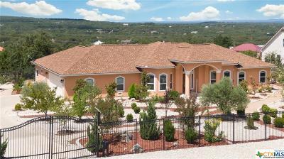 Spring Branch Single Family Home For Sale: 479 Lantana Mesa