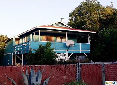 Canyon Lake Single Family Home For Sale: 2495 Lakeshore Drive