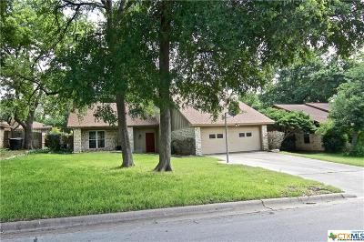 Temple, Belton Single Family Home For Sale: 3915 Wagon Trail