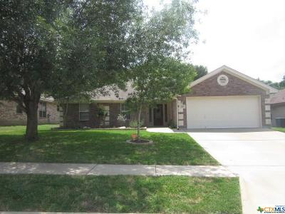 Harker Heights Rental For Rent: 1416 Loblolly Drive